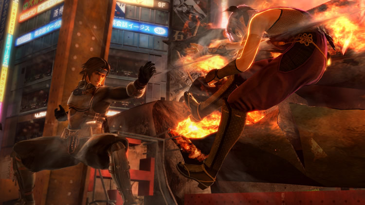 DoA 5's levels are dark and gritty