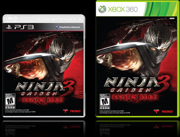 Ninja Gaiden 3 Razor S Edge Official Site Tecmo Koei America