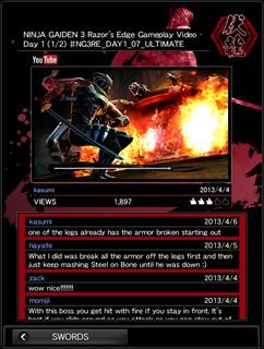 NINJA GAIDEN 3: Razor's Edge | Official Site | TECMO KOEI